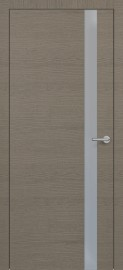 Фото -   Межкомнатная дверь Zadoor ПО H2 Окаша Грей   | фото в интерьере