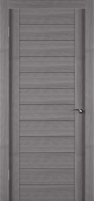 Фото -   Межкомнатная дверь Zadoor ПГ ECO 1 Грей     фото в интерьере