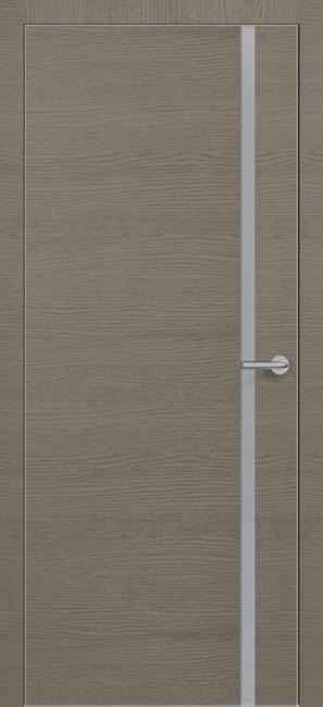 Фото -   Межкомнатная дверь Zadoor ПО ALU H1 Окаша Грей   | фото в интерьере