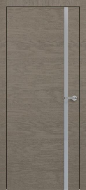 Фото -   Межкомнатная дверь Zadoor ПО H1 Окаша Грей     фото в интерьере