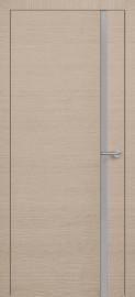 Фото -   Межкомнатная дверь Zadoor ПО H1 Окаша Капучино   | фото в интерьере