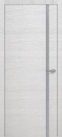 Фото -   Межкомнатная дверь Zadoor ПО H1 Окаша Сильвер   | фото в интерьере