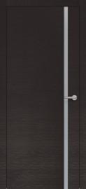 Фото -   Межкомнатная дверь Zadoor ПО H1 Окаша Венге   | фото в интерьере