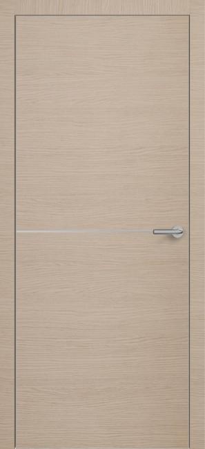 Фото -   Межкомнатная дверь Zadoor ПО ALU H10 Окаша Капучино   | фото в интерьере