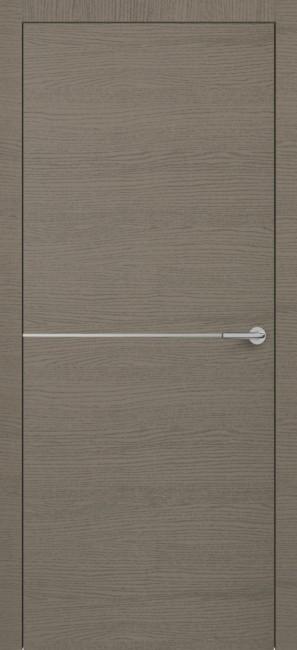 Фото -   Межкомнатная дверь Zadoor ПО H10 Окаша Грей   | фото в интерьере