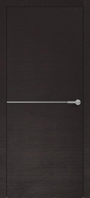 Фото -   Межкомнатная дверь Zadoor ПО H10 Окаша Венге   | фото в интерьере