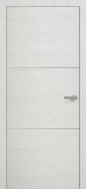 Фото -   Межкомнатная дверь Zadoor ПО H11 Окаша Голд   | фото в интерьере