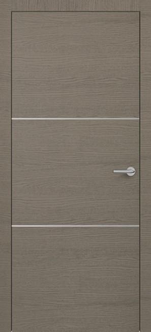 Фото -   Межкомнатная дверь Zadoor ПО H11 Окаша Грей   | фото в интерьере