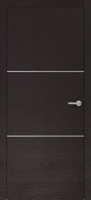 Фото -   Межкомнатная дверь Zadoor ПО H11 Окаша Венге   | фото в интерьере