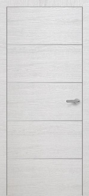 Фото -   Межкомнатная дверь Zadoor ПО H12 Окаша Сильвер     фото в интерьере
