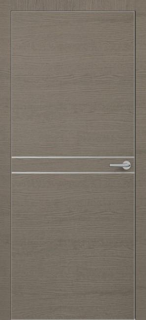 Фото -   Межкомнатная дверь Zadoor ПО ALU H13 Окаша Грей   | фото в интерьере