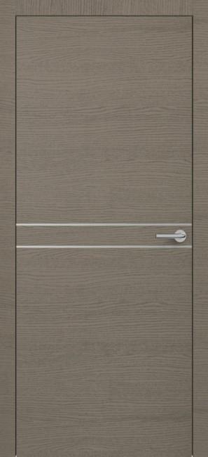 Фото -   Межкомнатная дверь Zadoor ПО H13 Окаша Грей   | фото в интерьере