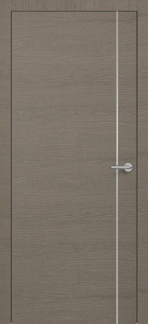 Фото -   Межкомнатная дверь Zadoor ПО H14 Окаша Грей   | фото в интерьере