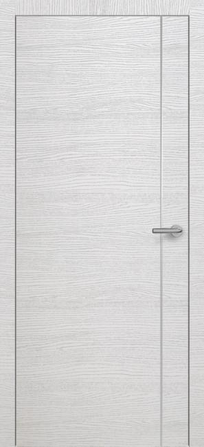 Фото -   Межкомнатная дверь Zadoor ПО H14 Окаша Сильвер   | фото в интерьере