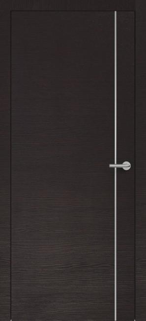 Фото -   Межкомнатная дверь Zadoor ПО H14 Окаша Венге   | фото в интерьере