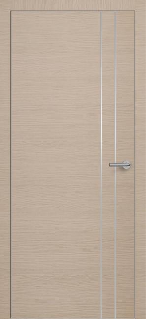 Фото -   Межкомнатная дверь Zadoor ПО ALU H15 Окаша Капучино   | фото в интерьере