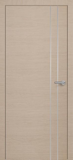 Фото -   Межкомнатная дверь Zadoor ПО H15 Окаша Капучино   | фото в интерьере