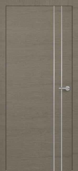 Фото -   Межкомнатная дверь Zadoor ПО H15 Окаша Грей   | фото в интерьере