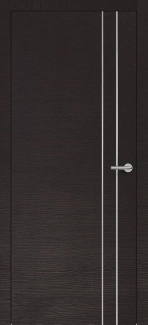 Фото -   Межкомнатная дверь Zadoor ПО H15 Окаша Венге   | фото в интерьере