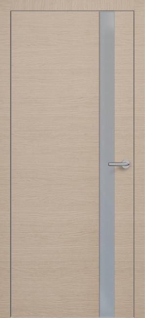 Фото -   Межкомнатная дверь Zadoor ПО ALU H2 Окаша Капучино     фото в интерьере
