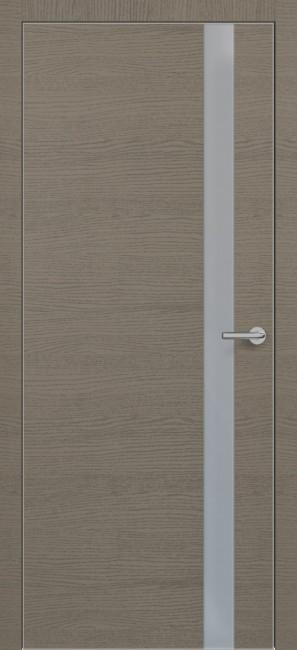 Фото -   Межкомнатная дверь Zadoor ПО ALU H2 Окаша Грей   | фото в интерьере