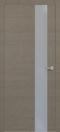Фото -   Межкомнатная дверь Zadoor ПО ALU H3 Окаша Грей   | фото в интерьере