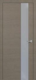 Фото -   Межкомнатная дверь Zadoor ПО H3 Окаша Грей   | фото в интерьере