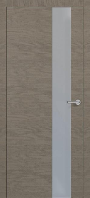 Фото -   Межкомнатная дверь Zadoor ПО H3 Окаша Грей     фото в интерьере