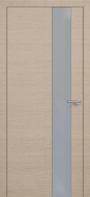 Фото -   Межкомнатная дверь Zadoor ПО H3 Окаша Капучино   | фото в интерьере