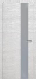 Фото -   Межкомнатная дверь Zadoor ПО ALU H3 Окаша Сильвер   | фото в интерьере