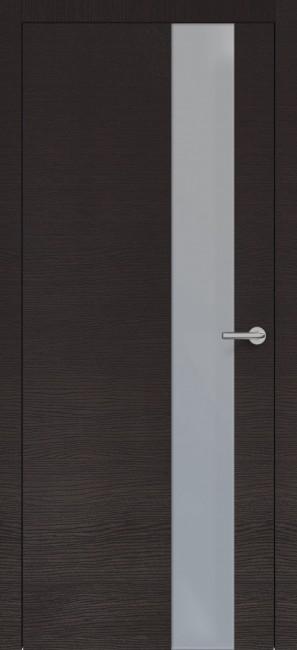 Фото -   Межкомнатная дверь Zadoor ПО H3 Окаша Венге   | фото в интерьере
