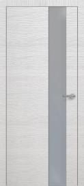 Фото -   Межкомнатная дверь Zadoor ПО H3 Окаша Сильвер   | фото в интерьере