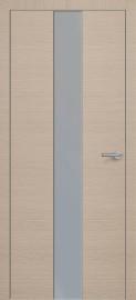Фото -   Межкомнатная дверь Zadoor ПО ALU H4 Окаша Капучино   | фото в интерьере