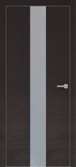 Фото -   Межкомнатная дверь Zadoor ПО ALU H4 Окаша Венге   | фото в интерьере