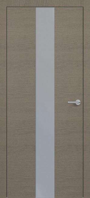 Фото -   Межкомнатная дверь Zadoor ПО H4 Окаша Грей   | фото в интерьере