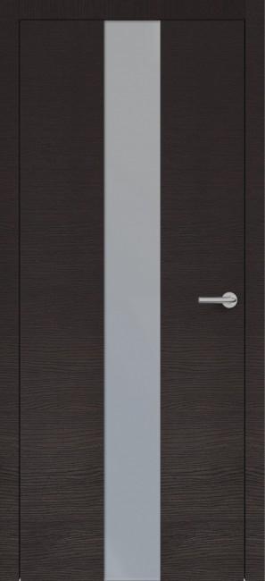 Фото -   Межкомнатная дверь Zadoor ПО H4 Окаша Венге   | фото в интерьере