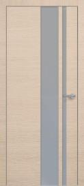 Фото -   Межкомнатная дверь Zadoor ПО ALU H5 Окаша Капучино   | фото в интерьере