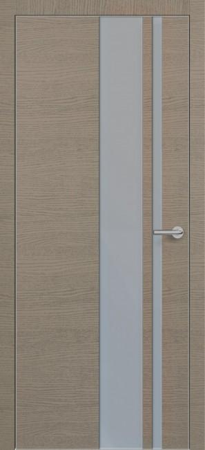 Фото -   Межкомнатная дверь Zadoor ПО ALU H5 Окаша Грей   | фото в интерьере