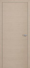 Фото -   Межкомнатная дверь Zadoor ПГ ALU H7 Окаша Капучино   | фото в интерьере