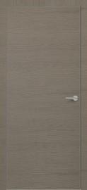 Фото -   Межкомнатная дверь Zadoor ПГ ALU H7 Окаша Грей   | фото в интерьере