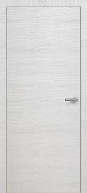 Фото -   Межкомнатная дверь Zadoor ПГ ALU H7 Окаша Сильвер   | фото в интерьере