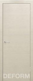 Фото -   Межкомнатная дверь Deform H7 дуб французский капучино, ПГ   | фото в интерьере