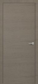 Фото -   Межкомнатная дверь Zadoor ПГ H7 Окаша Грей   | фото в интерьере