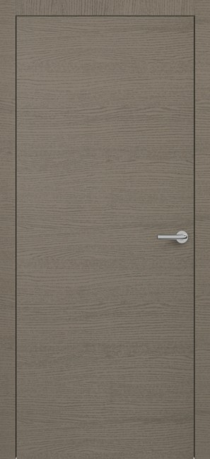 Фото -   Межкомнатная дверь Zadoor ПГ H7 Окаша Грей     фото в интерьере