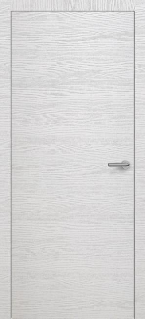 Фото -   Межкомнатная дверь Zadoor ПГ H7 Окаша Сильвер     фото в интерьере