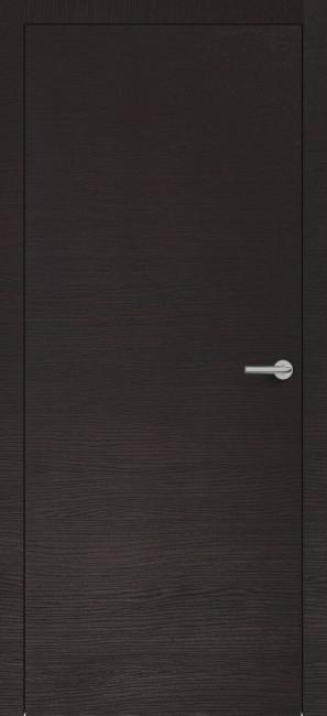 Фото -   Межкомнатная дверь Zadoor ПГ H7 Окаша Венге   | фото в интерьере