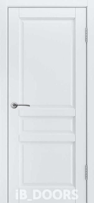 """Фото -   Межкомнатная дверь """"HELSINKI"""", пг, белый жемчуг     фото в интерьере"""