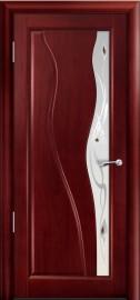 Межкомнатная дверь Мильяна Ирэн, по, красное дерево
