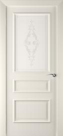 Межкомнатная дверь ПО Алессандро Жемчуг Эмаль