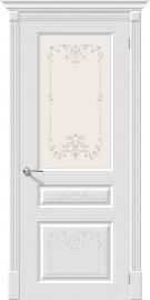 """Межкомнатная дверь """"Скинни-15.1 Аrt"""", по, белый"""